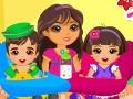 Dora İkiz Bebek Yıkama