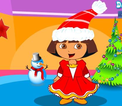Dora Yılbaşı Kostümü