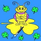 Komik Böcek Boyamaları