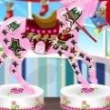 Pony Süslü Şeker Dekoru