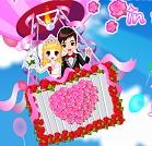 Romantik Düğün Çifti
