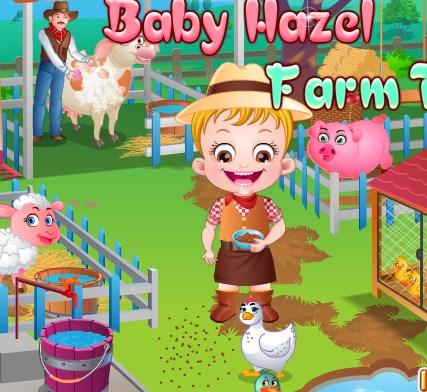 Hazel Amcasının Çiftliğinde