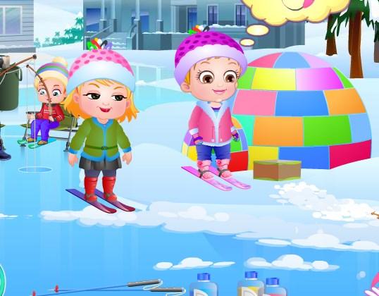 Hazel ve Arkadaşlarının Kar Eğlencesi