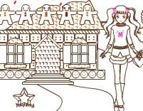 Yılbaşı Pasta Evi Boyama